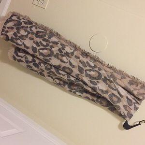 Cheetah Print Scarf wrap